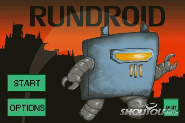 狂跳!屌丝机器人的逆袭《奔跑机器人》试玩