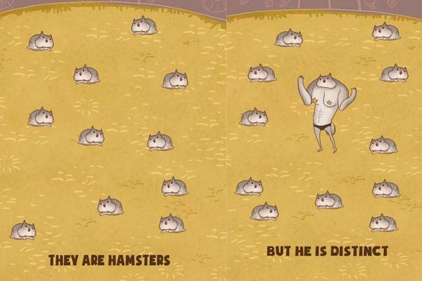 不忍直视!萌物进化怪物《仓鼠进化大派对》