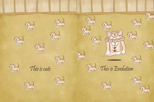 喵星人遭遇生化危机!《小猫进化大派对》