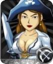 女海盗(灰)