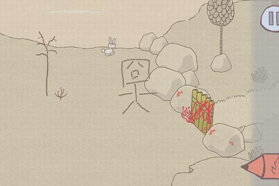 绘画游戏 画个火柴人 轻松评测图片