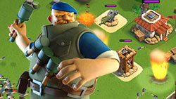 狂轰滥炸!投弹吊打4蓝双保护盾玩家基地
