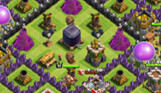 COC玩家分享 部落冲突八本后期护黑阵