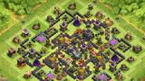 COC玩家分享:新一代九本迷宫型Farm阵