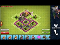 COC玩家分享:七本最新三防空阵型