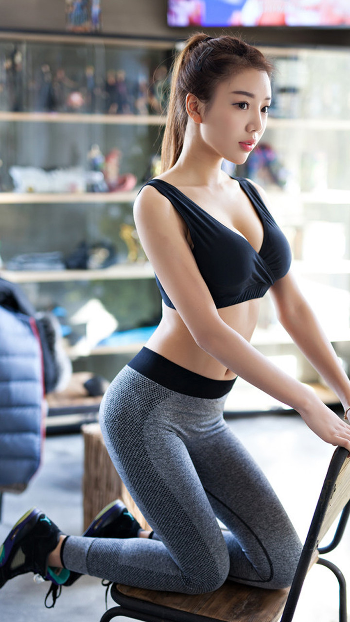 天冷了来健身房吧 一周节操手机壁纸放送