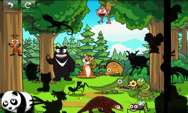 宝宝拼图学英语-动物集合|kids animal puzzle