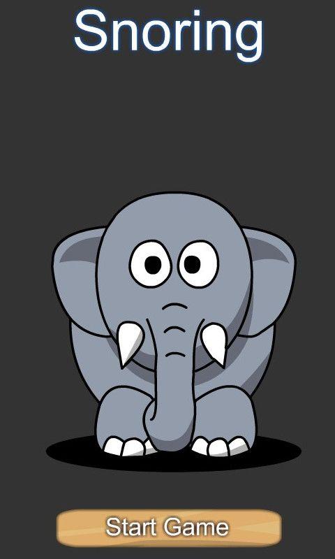 坐着的大象简笔画